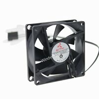 Computer PC Case Cooling Fan 80mm x 80mm x 25mm 8cm 12V Molex 4-Pin/3Pin 8025S