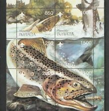 Buriatia - Vissen/Fish/Fische