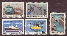 Russia Ships Train Modern Transportation 1966 Scott 3179-3183