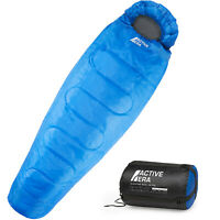 Active Era Mummy Sleeping Bag, Lightweight with Compression Sack for 3-4 Season