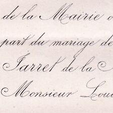 Blanche Lucienne Jarret De La Mairie Marolle Baugé 1869 De Vernot De Jeux