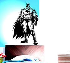 VINILO DECORATIVO PARED SALÓN DECORACIÓN BATMAN SUPERHEROE STICKER DECAL VINILOS