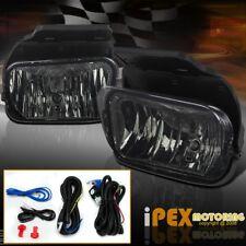 2003-2006 Chevy Silverado 1500 2500HD Smoke Front Bumper Fog Lights + Wiring Kit