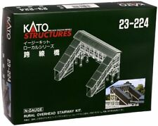 Kato N Scale Unitrack Rural Overhead Walkway Kit