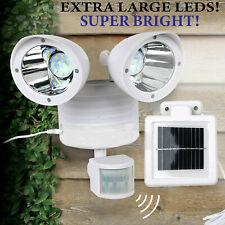 New Solar LED Street Light Motion Sensor Control Wall Flood Yard Outdoor Lamp