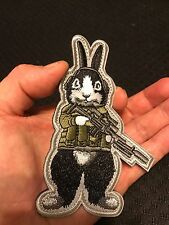 Tactical BUNNY RABBIT Military ARMY SWAT Police EMBROIDER Morale PATCH LAPD NYPD