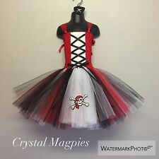 Pirate Inspired Tutu Party Dress Perfect For Any Captain Hook Fan!