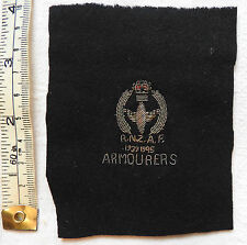 Military R.N.Z.A.F Royal New Zealand Air Force Cloth Bullion Badge RAF (3363)