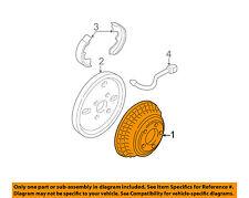 GM OEM Rear Brakes-Brake Drum 18018680