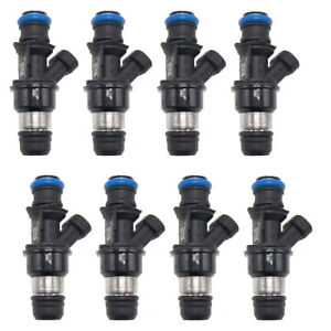 8x Fuel Injectors 17113739(25348180 25176061 )For Chevy GMC Marine 8.1L