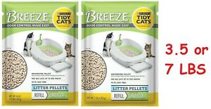 Purina Tidy Cats Breeze Cat Litter Pellets Refill W/ Odor Control 3.5 / 7 Lbs ✔️