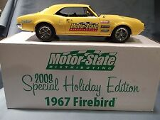 1967 PONTIAC FIREBIRD YELLOW CAR 1:18 LANE EXACT DETAIL 2008 HOLIDAY EDITION GMP