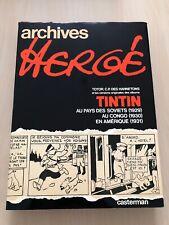 Superbe LIVRE BD Archives Hergé Tome 1 TINTIN