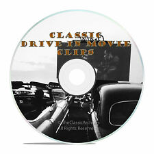 Classic Drive In Movie Theatre Intermission Ads, Promos, Commercials Clips -J36