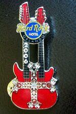 HRC Hard Rock Hotel Orlando Iron Cross Series 2006 Red Doubleneck LE300 XL Fotos