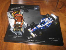 1:43 WILLIAMS FW19 J. Villeneuve 100 Jahre Renault Engine Org. Renault OVP NEU