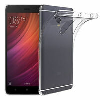 Cover Custodia Trasparente Slim Tpu Per  Xiaomi Redmi Note 4 Global 5,5""