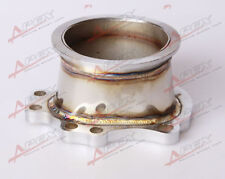 """FOR GT25R GT28R GT28RS To 3"""" INCH V-BAND VBAND CLAMP FLANGE DOWNPIPE ADAPTER"""