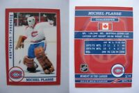 2015 SCA Michel Plasse Montreal Canadiens goalie never issued produced #d/10