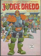 Judge Dredd - The Streets of Mega City (1982, Titan Books) 1st pb ed UNREAD