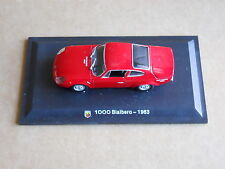Leo Models CAR DIE CAST 1:43 NEW - FIAT ABARTH 1000 BIALBERO 1963 [MV-13 ]