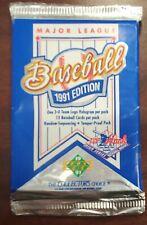 1991 Upper Deck MLB Card Pack