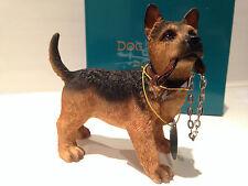 Walkies Standing Alsatian/ German Shepherd Ornament Dog Puppy Gift Figurine