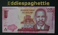 Malawi 100 Kwacha 2019 UNC P-new