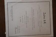 """MAROKKO, IRENE S.A. 1940, SELTEN, """"SCHWEIZER FRANKEN"""""""