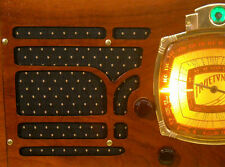 Vintage Black & Gold Speaker Grill Cloth Art Deco – Old Antique Radio Grille