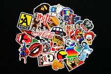 60 Pieces Cartoon Stickers Doodle Car Skateboard Laptop Luggage Stikers Mix Lot