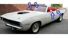 fits Plymouth Barracuda Dodge Dart hardtop windshield weathersrtip 67