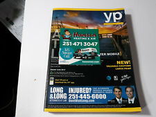 THE REAL YELLOW PAGES Greater Mobile Alabama 2017 Telephone Phone Book