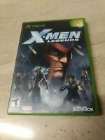 X-Men Legends Microsoft XBOX Marvel Activision