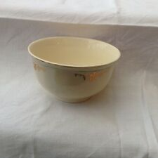 Alfred Meakin large sugar bowl gold swags Green ring off edge MEA278