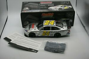 ACTION 1:24 Jeff Gordon #24 Dupont Test Car HMS 25th Anniversary 2009 1/1724