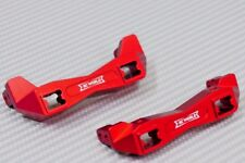 Traxxas TRX-4 Upgrade  METAL BUMPER BRACKETS F+R  Lightweight Aluminum RED