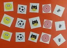 Variety of 15  Toilet Training Stickers BOYS TOILET TRAINING 25MM STICKERS