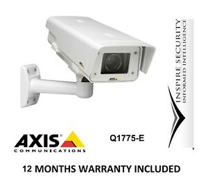Axis Q1775-E Outdoor Optical X10 ZOOM IP Network Camera IP Rated HD 1080P CCTV