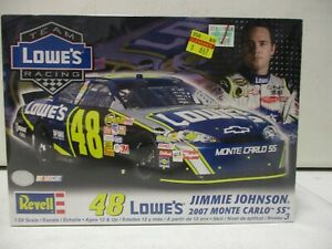 Revell Jimmie Johnson Lowes 2007 Monte Carlo SS 1/24