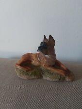 Boxer dog Figurine Portugal Vintage  Figurine