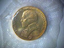 PAUL REVERE AMERICAN REVOLUTION BICENTENNIAL COIN, LEXINGTON-CONCORD COIN,