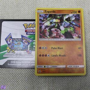 Pokemon TCG Zygarde SM15 Promo + Online Code Trading Card Mint
