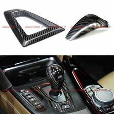 Carbon Fiber Gear Shift Knob & Surround Cover for 14+ BMW M2 M3 M4 M5 M6 X5M X6M