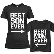 Familia a Juego Ropa Manga Corta Algodón Camisetas Mejor Ever Padre Mami Sons
