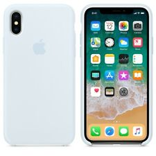 Sky Blue GENUINE ORIGINAL Apple Silicone Case NEW iPhone X RRP $39
