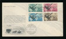 LUXEMBOURG 1949 UPU SET FIRST DAY COVER ILLUSTRATED