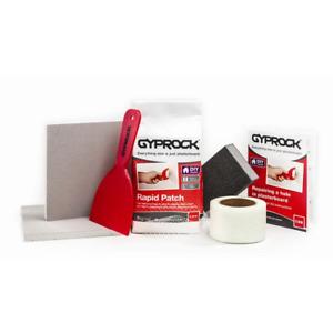 Gyprock 1.5kg DIY Rapid Plaster Repair Kit DIY - Wall repair holes damage tools