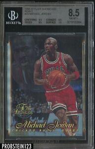 1996-97 Flair Showcase Row 2 #23 Michael Jordan Bulls BGS 8.5 HOF