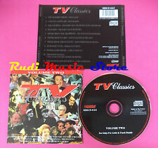 CD TV THEMES VOLUME TWO Compilation MBSCD 412/2 no vhs mc dvd(C39)